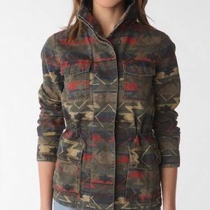 Urban Outfitters Ecote Aztec Utility Jacket Small